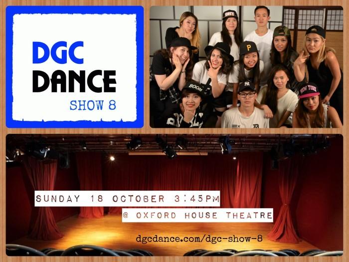 DGC Dance Show 8 Poster