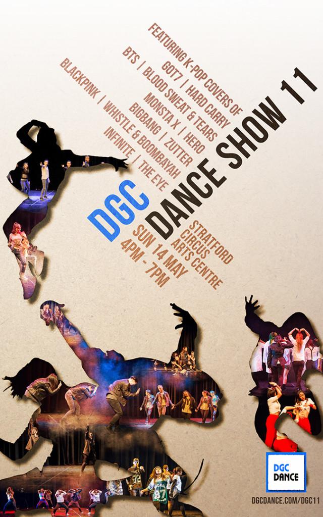 DGC Show 11 Poster by Veronica Morfi