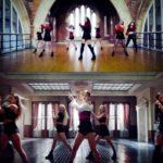 Jennie Solo MV side-by-side 2